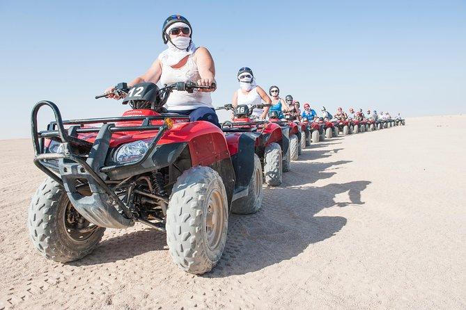 Five Hours Quad Bike Safari and camel ride - Hurghada