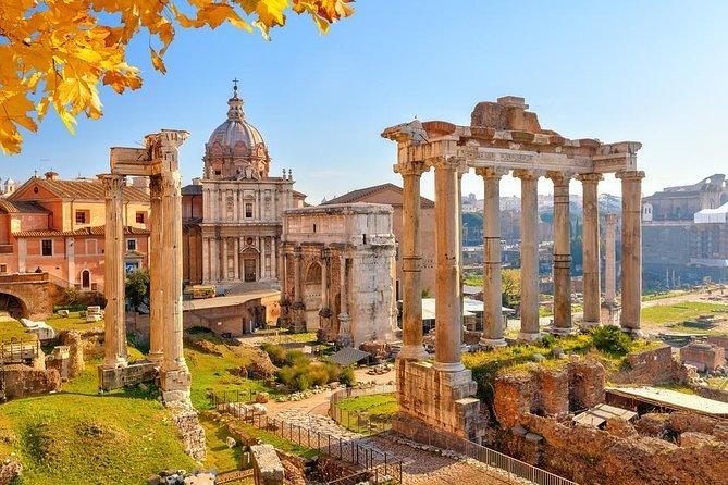 Klassische Tour durch das antike Rom und das Kolosseum mit vorrangigem Eingang   Kleine Gruppe