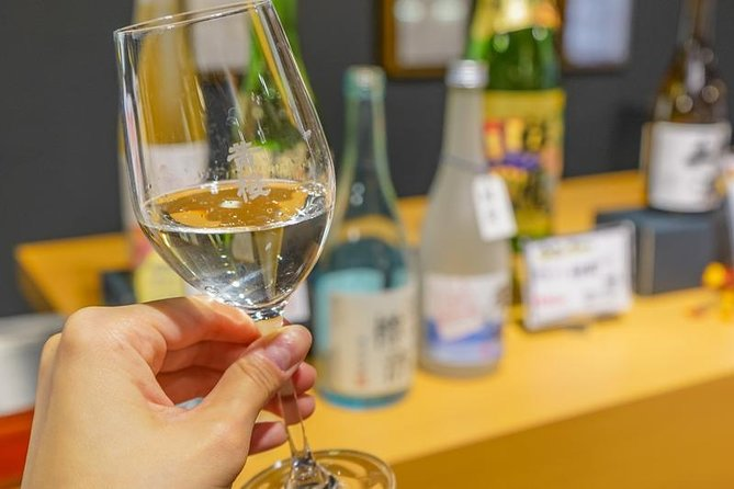 "Private Tour - Compare the Taste of Many Kinds of ""sake"" to Find Your Best"