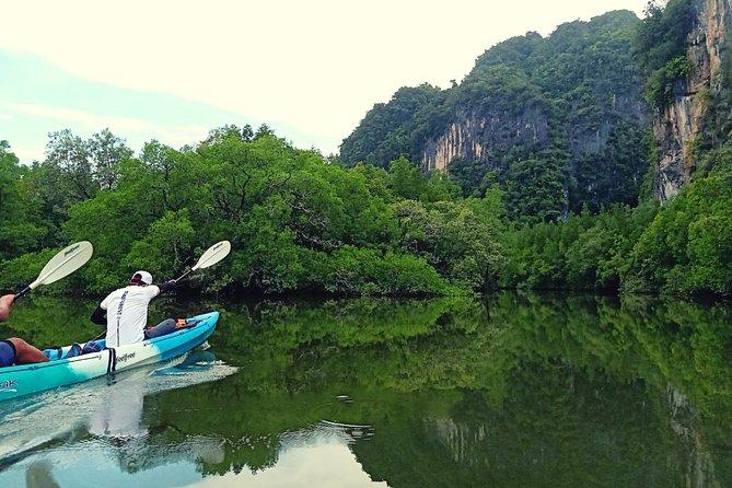 Krabi: Kayaking Tour at Ban Bor Thor Ancient Cave, Mangroves & Swimming