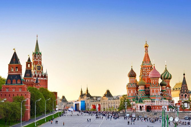 Moscow guided tours in Portuguese