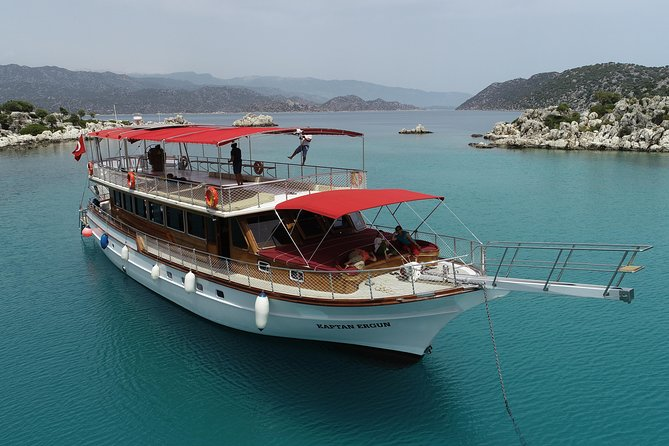 Shared Kekova and Sunken City Tour From Kas Harbor with Lunch