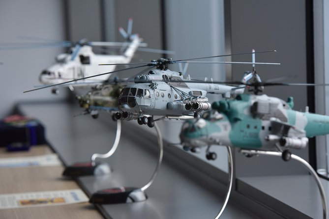 """Industrial Tour """"mi-8 Helicopter Training Center"""""""