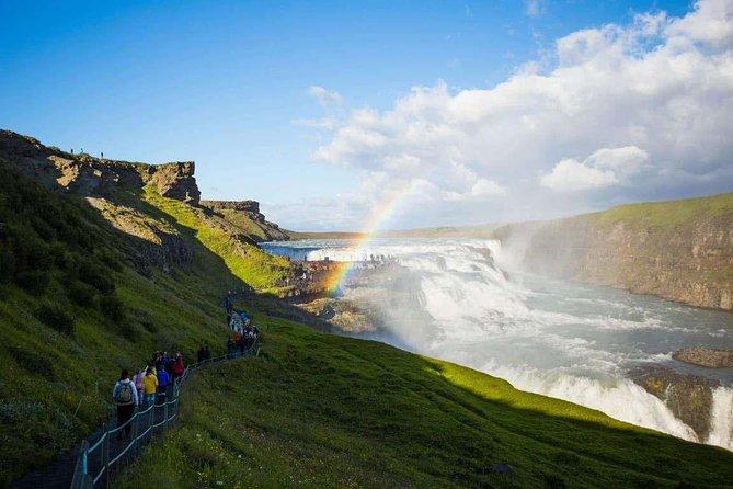 Tour du Cercle d'Or et Kerið pour les navires de croisière en minibus