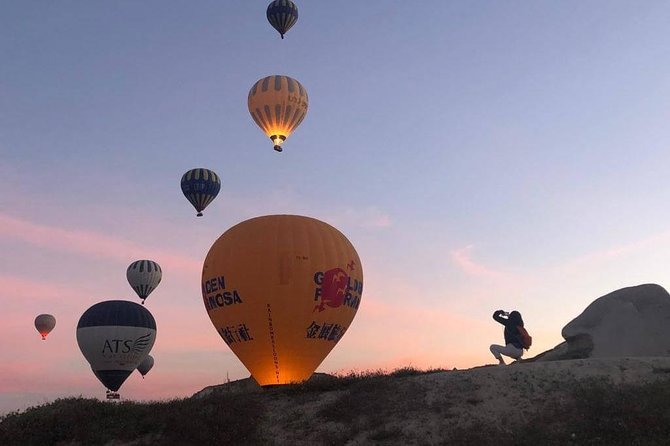 Sunrise Trekking Tour with Balloon Flight watching