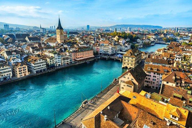 Traslado privativo do aeroporto de Aeroporto Zurich (ZRH) para o centro de Zurique