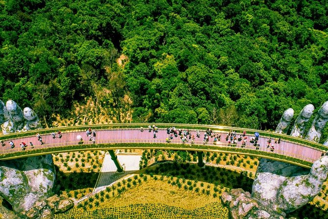 Golden Bridge & Ba Na Hill Via Cable Car From Hotels In Da Nang Or Hoi An City