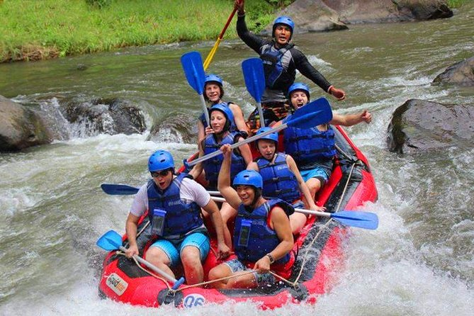 Ubud - Ayung River Rafting Adventure Tours