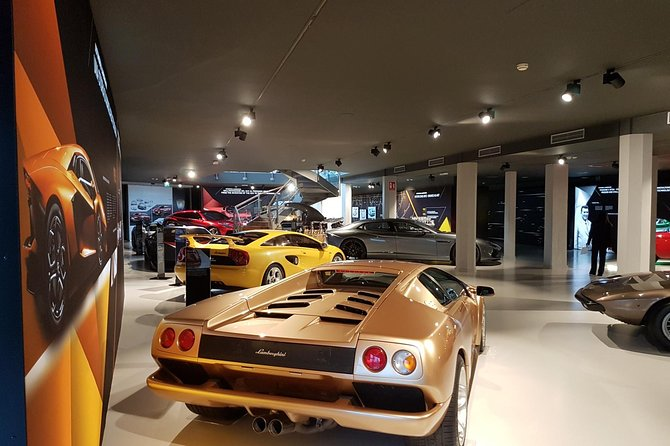 Lamborghini Museo And Factory Tour