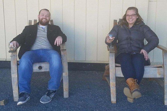 Chillin at Boordy vineyard!