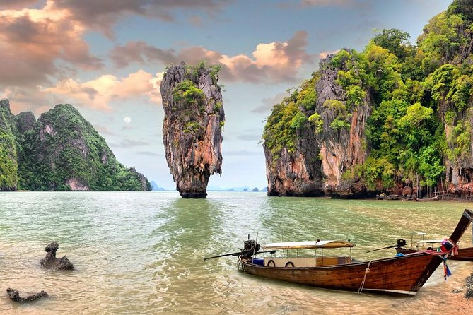 Phuket James Bond Island Tour by Longtail Boat with Lunch