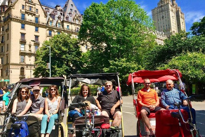 60 min Private Central Park Pedicab Tour