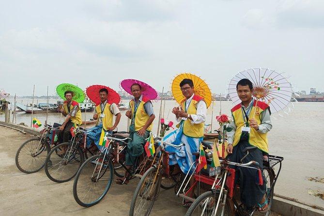 Hidden Yangon Trishaw Ride