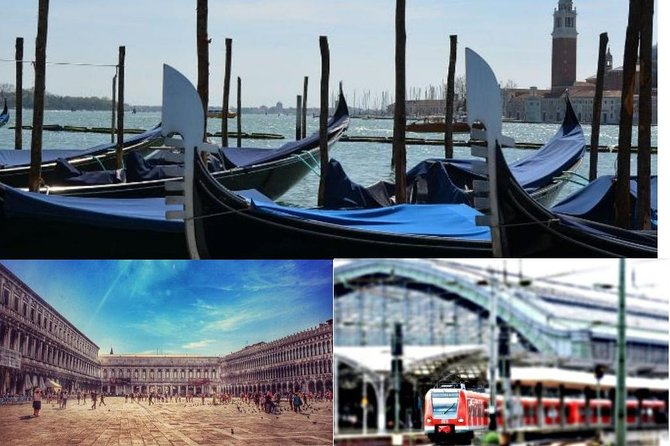 Venice Private Tour including St Mark Doge's Palace & Gondola Ride from Rome