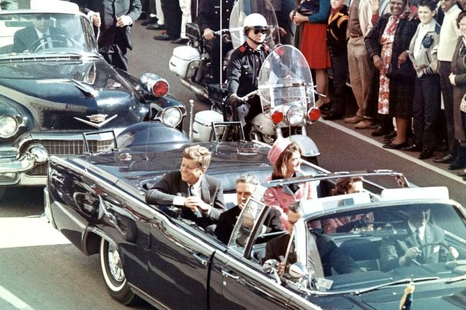 John F Kennedy Assassination Tour ending at Sixth Floor Museum