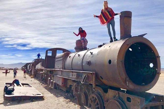 Salar de Uyuni de 3 dias e 2 noites por via aérea a partir de La Paz.