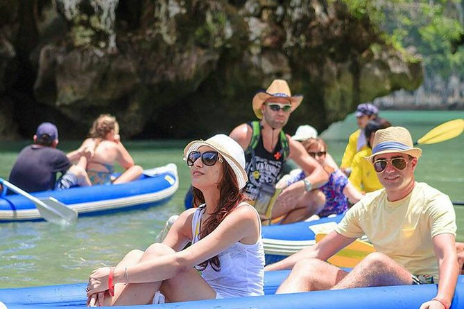 Phuket James Bond Island Adventure Tour by Longtail Boat with Lunch & Sea Canoe