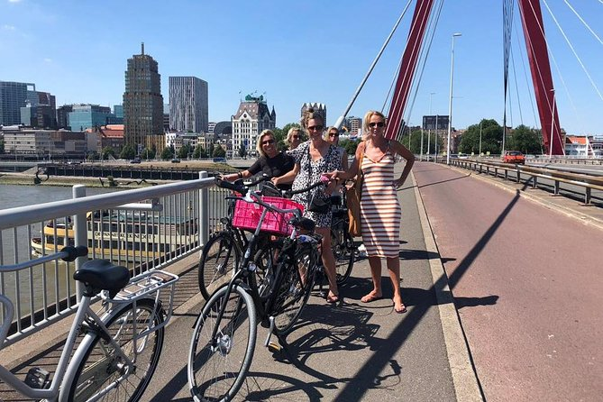 Highlights Rotterdam PRIVE bicycle tour