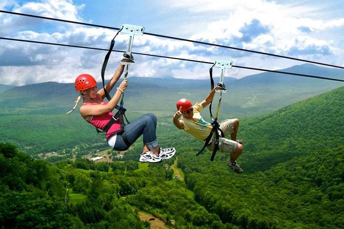 Zipline adventure near Kutaisi through Sairme resort and hot spring spa photo 1