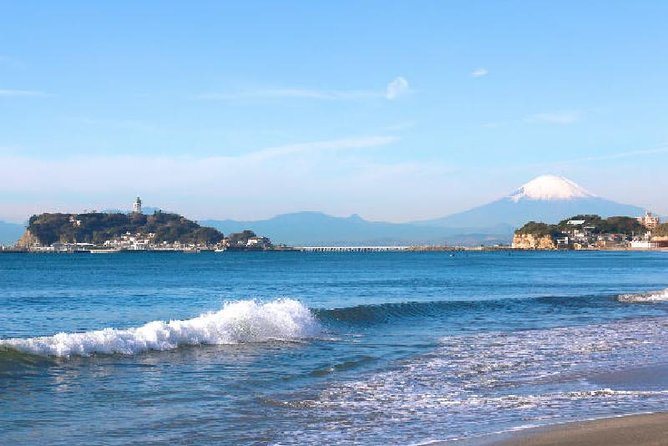 Kamakura Highlights Tour with Tea Ceremony and Enoshima Bay Drive from Tokyo