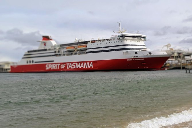 Spirit of Tasmania arrival private pick up + 6HR Sightseeing + Hotel Drop off