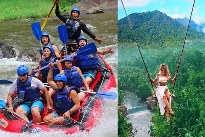 Ubud Rafting & Extreme Jungle Swings Tour