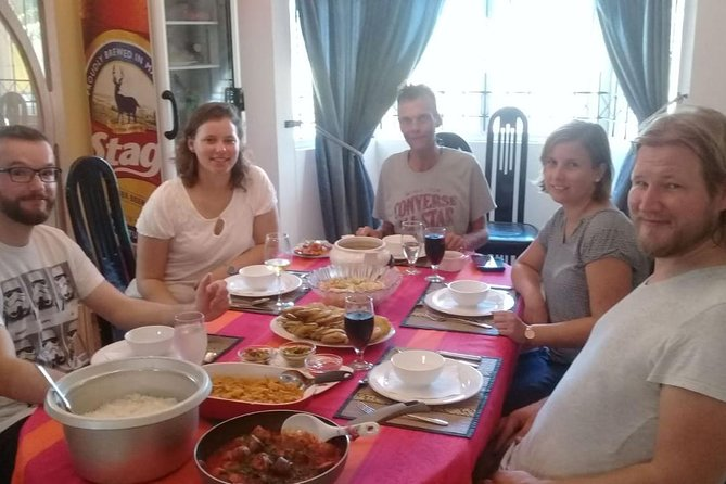 We are Germans, we came to enjoy this great meal prepared by Chef Sandy of Pallagino.