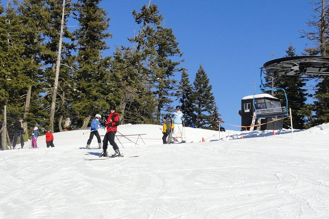 Top of the chairlift