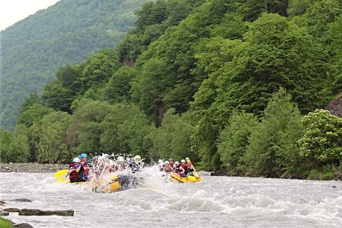 Extreme Tour in Kazbegi - With best experiance of Rafting, Hiking and Khinkali