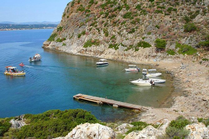 Private daily sailing cruises from Chania to Thodorou island and Machairida