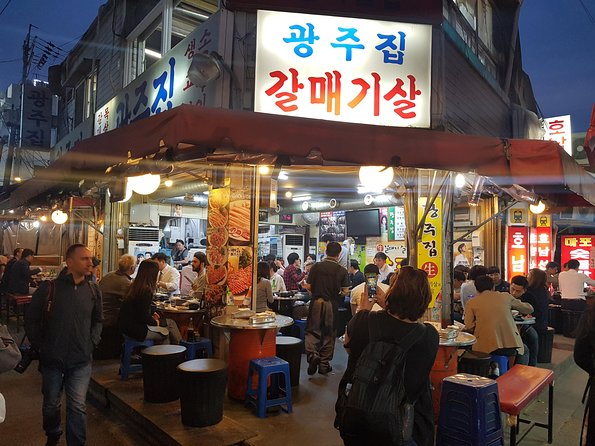 "Seoul Night ""Private Tour""(Korean BBQ, N-Tower, Seoul Fortress, Local Market)"