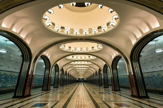 Visit Red Square and explore Moscow Metro
