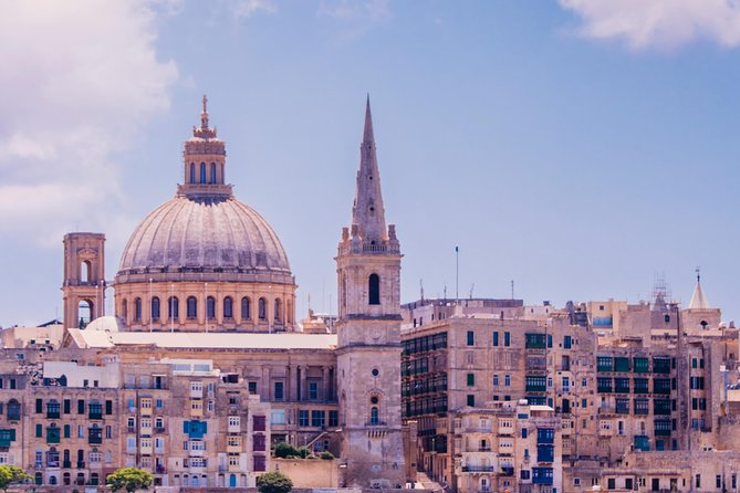 VALLETTA CAPITAL City Tour (Half Day with Pick-up)