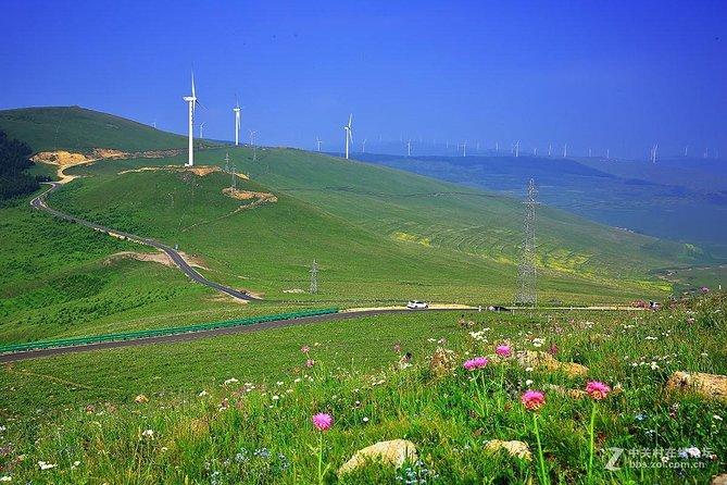 Zhangjiakou Skyroad experiece of hiking,biking or driving in a cool summer