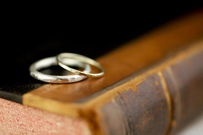 約20分で出来上がる指輪の手作り体験・記念写真のプレゼント付き