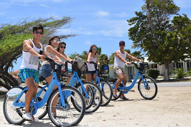Discover the Mistery of Aruba Downtown, Linear Park and Surfside Beach....