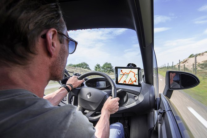 Drive it yourself electric Countryside and Windmill GPS audio tour