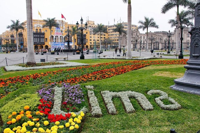 Half-day Lima City Sightseeing Tour & Larco Museum