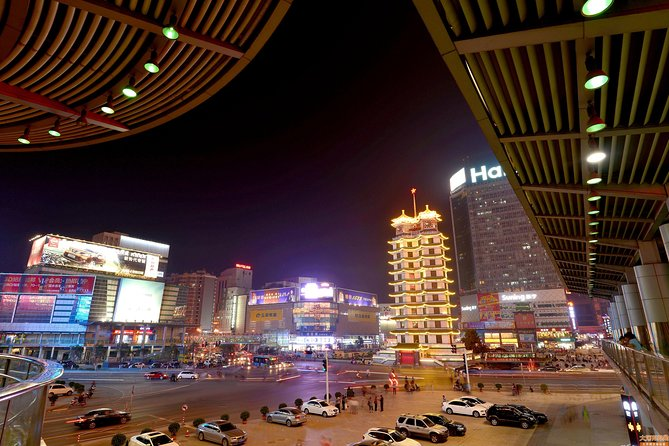 Zhengzhou By Night: Erqi Square and Market Tour photo 1
