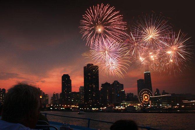 Chicago 3D-vuurwerkcruise op Lake Michigan