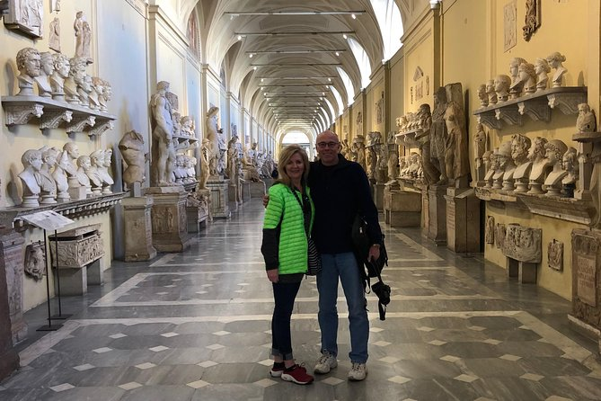 Skip the line Colosseum & Vatican Museums, Hotel Pick-up Drop-off, Tkts included