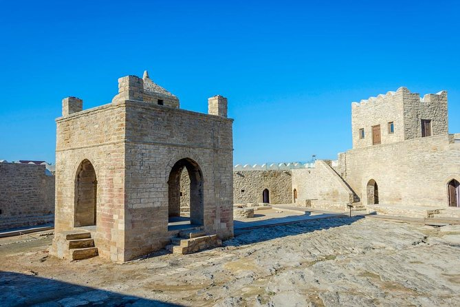 Lunch & Entrance fees included Full day Qobustan, Ateshgah, Merdekan Castle Tour