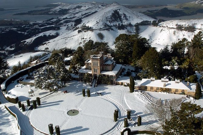 Larnach Castle & Gardens Tour from Dunedin winter