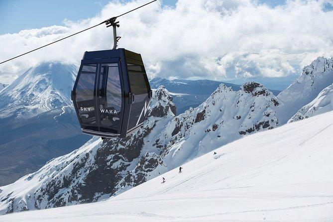 Mt Ruapehu Whakapapa - Sky Waka Gondola Return Trip
