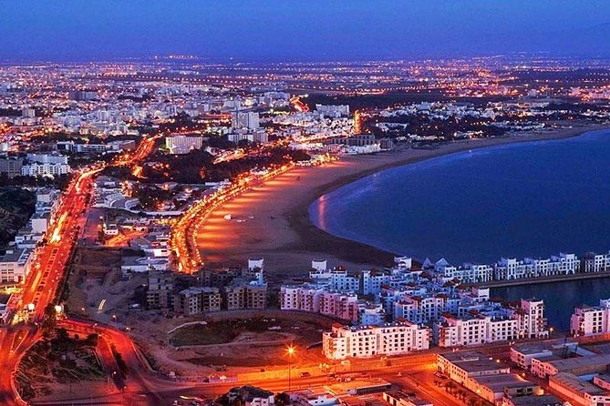 The visit of the city of Agadir extends over 3 hours