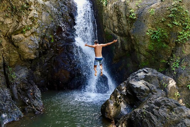 El Yunque Natural Waterslide & Rainforest hike with Transportation included