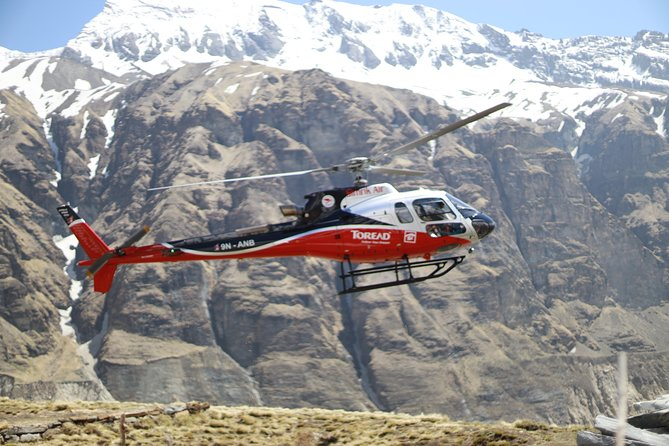 Annapurna: Helicopter Tour to Annapurna Base Camp from Pokhara