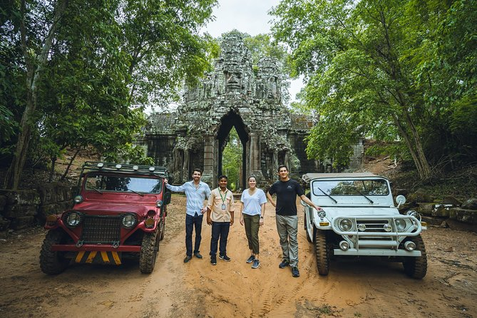 Angkor Jeep Tour Discovery