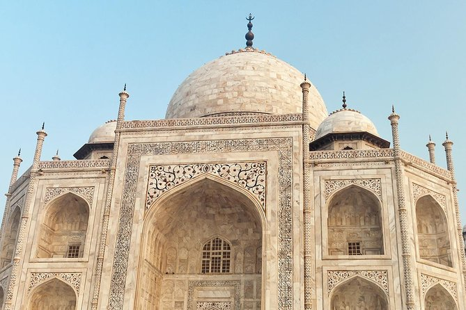 Same Day Private Tour to TAJ MAHAL & AGRA FORT, from DELHI.