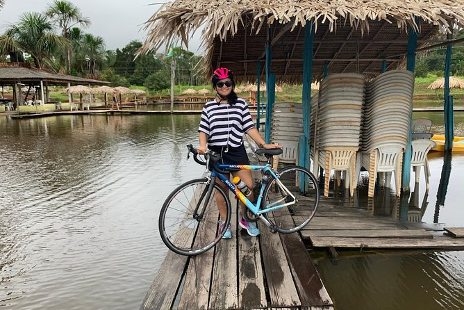 Cycling in the middle of Amazonia